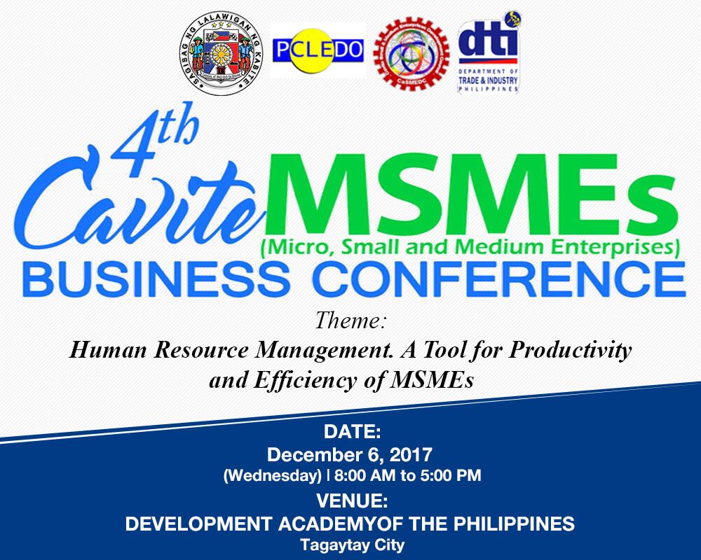 4th Cavite MSMEs Business Conference