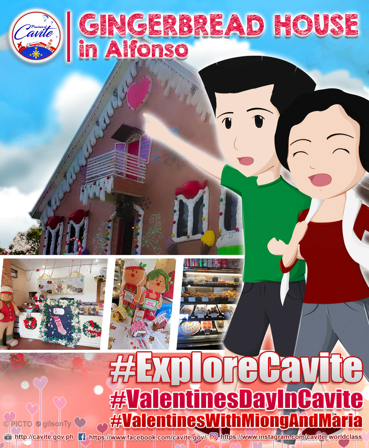 Explore Cavite – Gingerbread House in Alfonso
