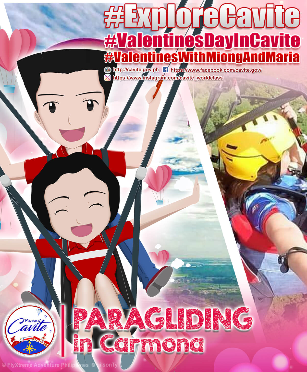 Explore Cavite – Paragliding in Carmona