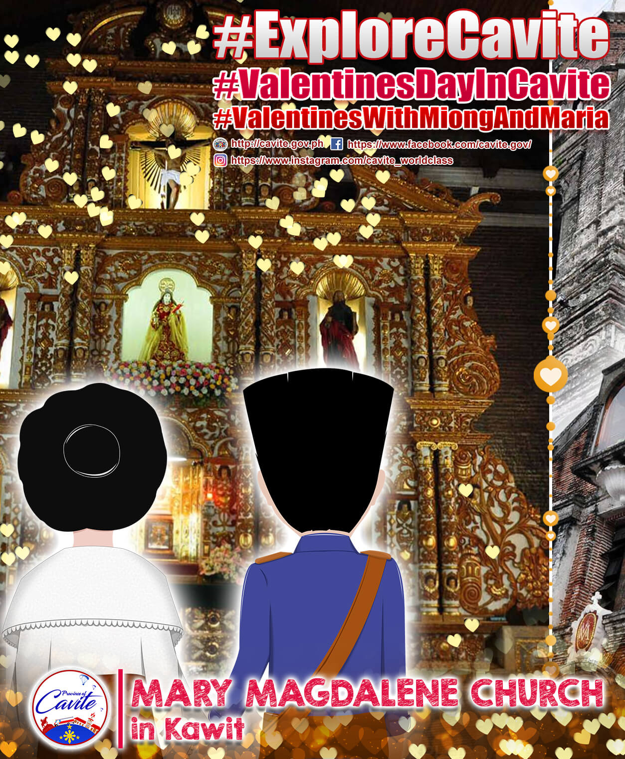 Explore Cavite – Mary Magdalene Church in Kawit