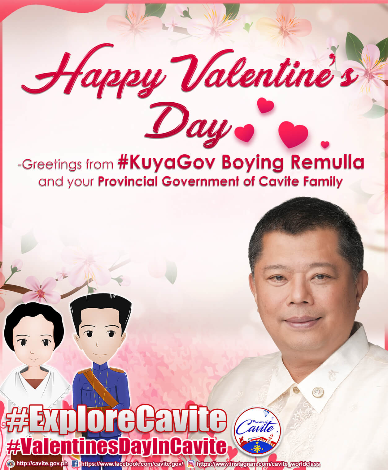 Explore Cavite – Happy Valentine's Day