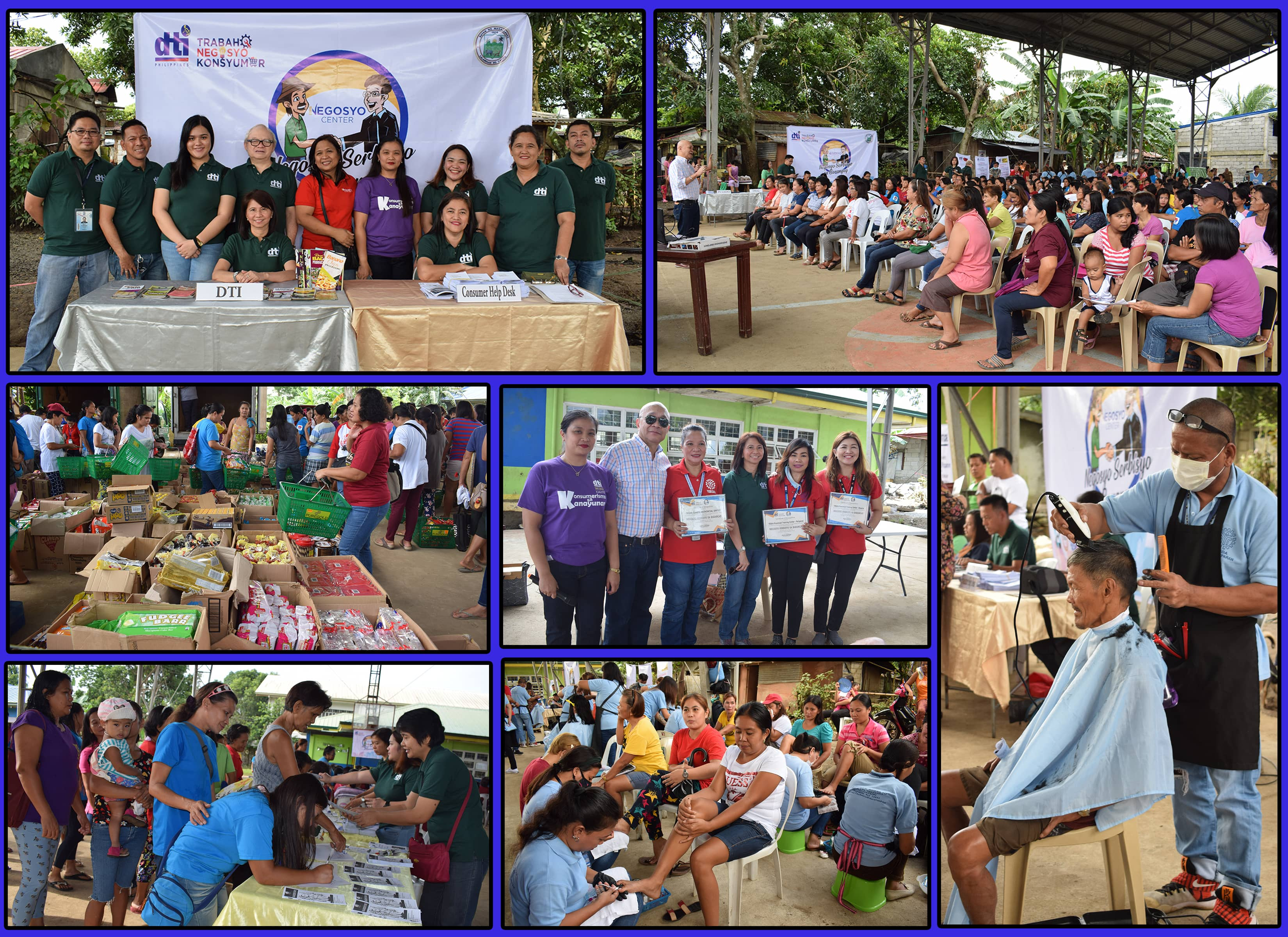 INTENSIFYING ENTREPRENEURSHIP THRU THE NEGOSYO SA BARANGAY