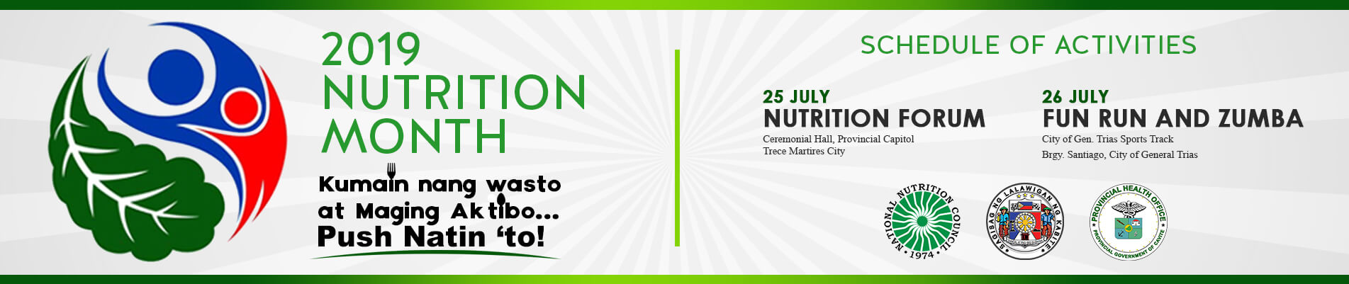 2019 Nutrition Month