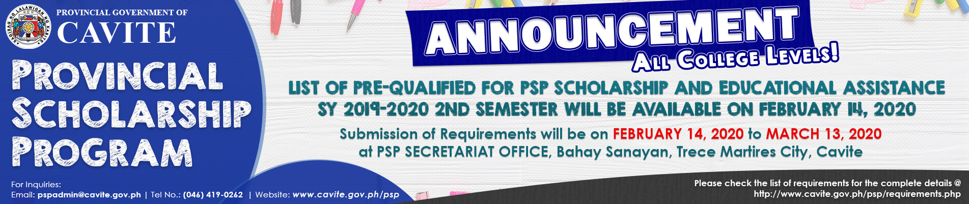 PSP Pre-Qualified