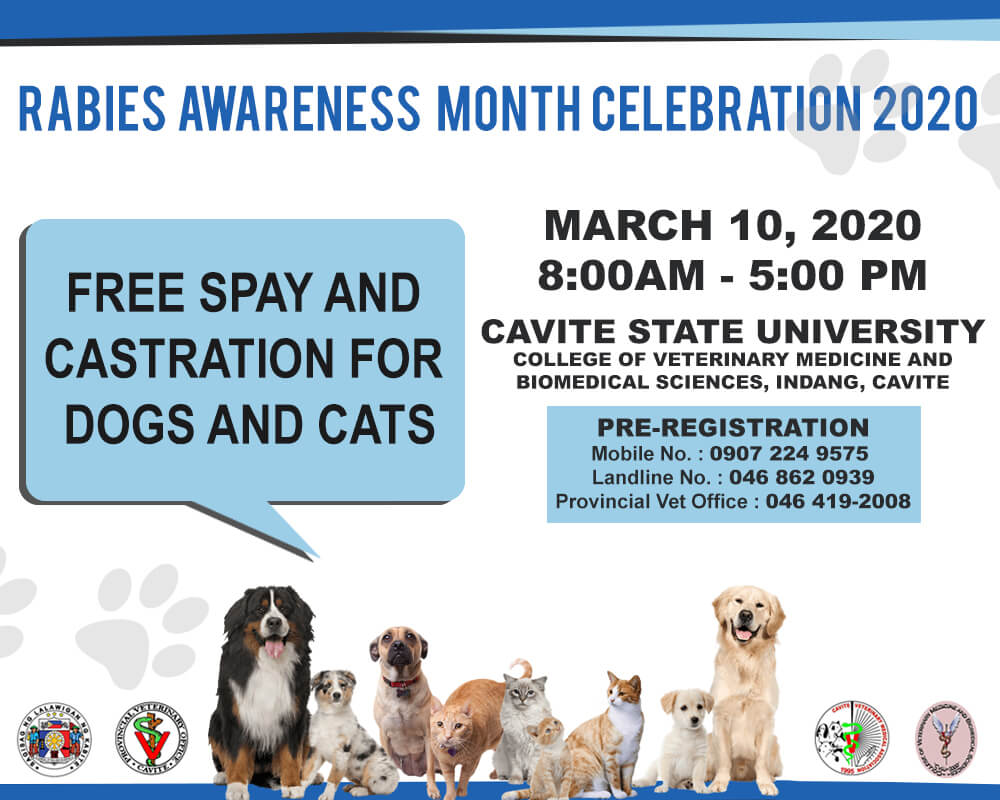 Rabies Awareness Month Celebration 2020
