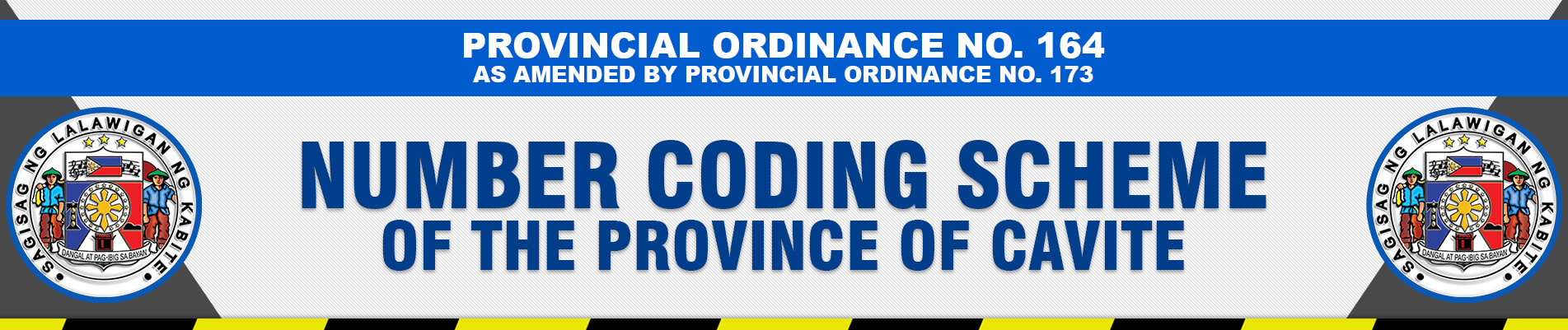 Number Coding Scheme of the Province of Cavite